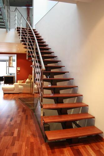 Escaleras de hierro y madera para interiores dise os - Escaleras de hierro y madera para interiores ...